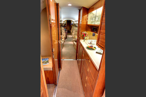 1984 Gulfstream III Galley