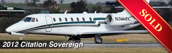 2012 Citation Sovereign